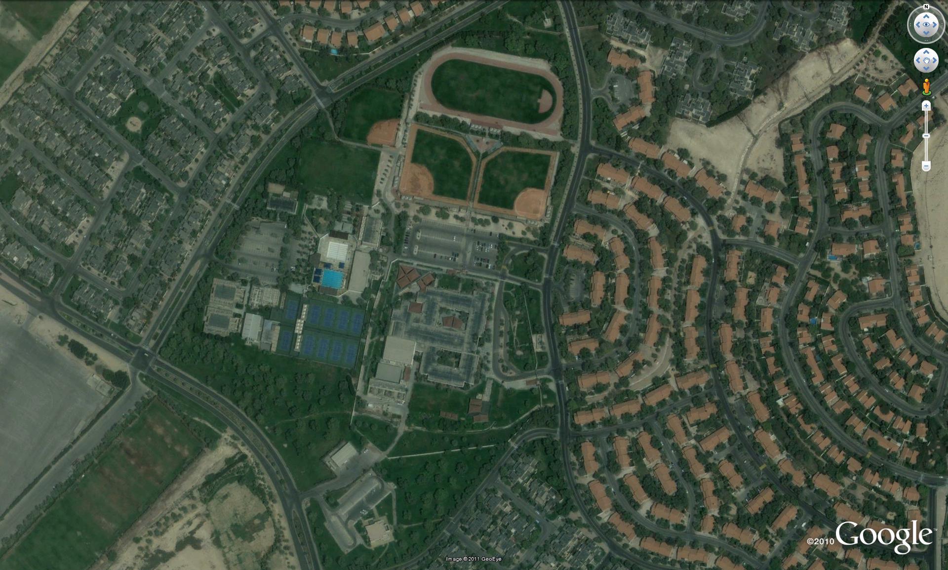 المجاورة السكنية، الخدمات Space Management إدارة المكان